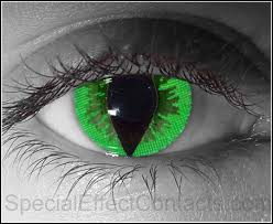 yellow special effect contact lenses special effect contact lenses