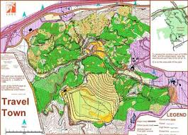 griffith park map travel town griffith park may 31st 2009 orienteering map