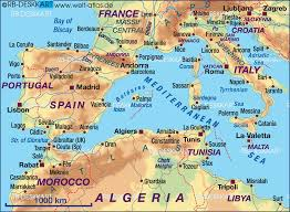 mediterranean map map of mediterranean sea west several countries map in the