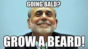 Guy With Mustache Meme - top 4 best beard styles for bald men