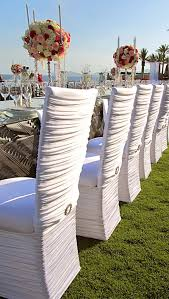chair coverings best 25 chair covers for rent ideas on bridal shower