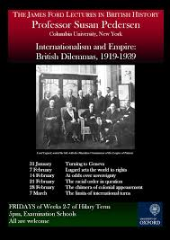 the james ford lectures in british history faculty of history