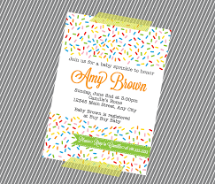 gender reveal invitation template baby shower sprinkle invitations wblqual com
