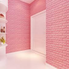 online get cheap diy brick wall aliexpress com alibaba group 60 cm 3d pe foam wall stickers diy stone brick poster damp proof wallpaper for living room kitchen self adhesive art mural