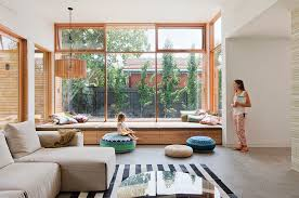 How To Build A Window Seat In A Bay Window - long window bench with storage storage decorations