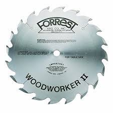 forrest table saw blades forrest ww10206100 woodworker ii 10 20t rip blade thin kerf table