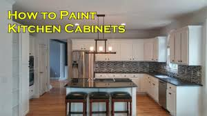 How To Paint Kitchen Cabinets How To Paint Kitchen Cabinets With A Sprayer Not A Brush And