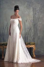 sheath floor length long sleeve off shoulder bridal gown
