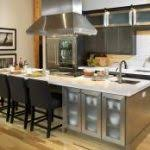 kitchen island with table combination kitchen brown wood kitchen island table combination with some