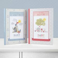 baby record book personalised baby record book by jonny s