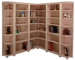 Corner Bookcases Corner Bookcase System Customizable Sam S Wood Furniture