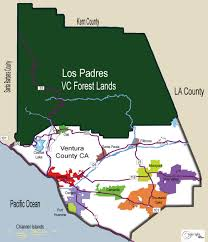 ventura county map county map