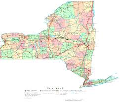 Counties In Ny State Map Map York State Map Showing Counties