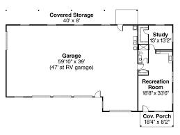 Rv Garage Apartment Garage Plans With Flex Space 3 Car Garage With Rv Bay And