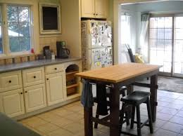 Small Kitchen Bar Ideas Bar Height Kitchen Table Island Adjustable Counter With Storage