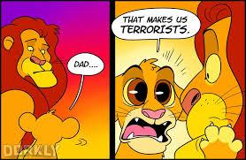 horrifying truth lion king dorkly