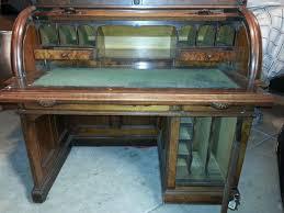 vintage roll top desk value antique roll top desk with top cabinet antique appraisal vintage