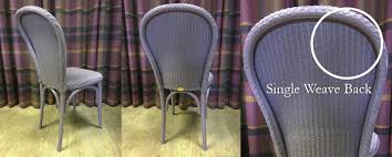 Lloyd Loom Bistro Chair The Difference Between Single Weave Weave Lloyd Loom