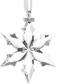 swarovski 2012 annual editioncrystal snowflake ornament commemorate