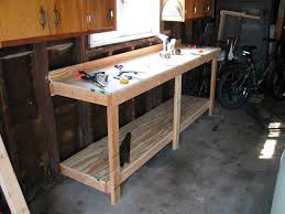 Work Bench Design Perfect Garage Workbench Plan How To Make Garage Workbench