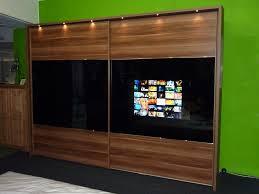 Wohnzimmerschrank Fernseher Versteckt Fernseher Im Schrank Home Design
