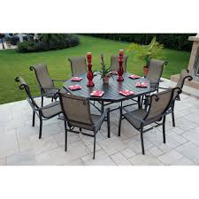 Patio Dining Set Swivel Chairs - patio dining sets for 8 trend pixelmari com