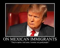 Racist Mexican Memes - univision to donald trump hasta la vista baby mi blog es tu