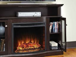 fireplace heater electric flame bedroom living room tv stand dvd