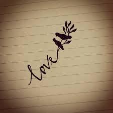 drawn lovebird little bird pencil and in color drawn lovebird