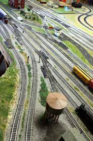 garden railway layouts 5086 best model trains images on pinterest model trains ho