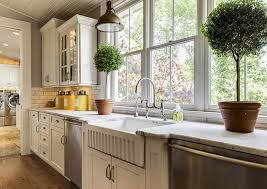 farmhouse kitchens with white cabinets farmhouse kitchen cabinets door styles colors ideas