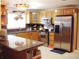 Design Home Office Using Kitchen Cabinets Popular Decorating Ideas For Kitchens With Oak Cabinets Decoration