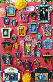dig the mexican altar boxes dead kitsch cool sold at mexico