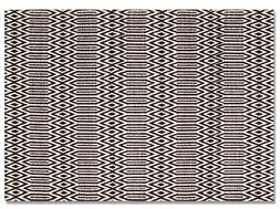 serengeti small black u0026 white tribal print rug buy at lucas