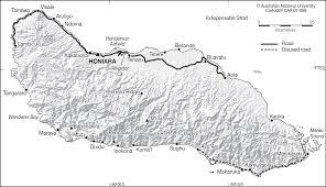 Guadalcanal Map Guadalcanal Cartogis Services Maps Online Anu