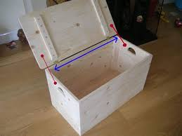 Build Your Own Toy Box Bench by Simple Storage Box 7 Steps With Pictures