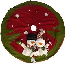 Lighted Christmas Tree Skirt Snowman Christmas Tree Skirt 40 Thru 50 Inches Christmas Wikii