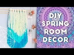 Room Decor Ideas Diy Diy Spring Room Decor Ideas And Organization 2016 Youtube