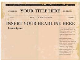 newspaper template for powerpoint expin memberpro co