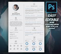 graphic designer resume template modern resume cv template 2018 graphic design resume
