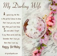 happy birthday wife cards birthday cards for wife print free at