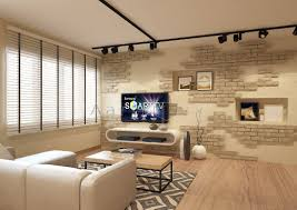 beautiful feature wall design you will never find in hdb flat