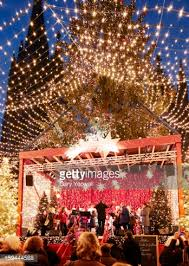 holiday decorations at christmas market in cologne germany stock