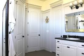 Beveled Bathroom Mirrors Beveled Bathroom Mirror Transitional Bathroom The Casablanca