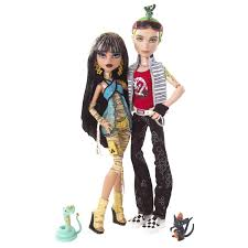 Monster High Doll Halloween Costumes by Monster High Basic Wave 1 Cleo De Nile With Pet Hissette Owned