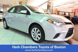 2014 Toyota Corolla Roof Rack by Herb Chambers Toyota Of Boston Vehicles For Sale In Boston Ma 02134