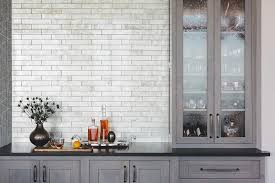 Black Glass Cabinet Doors Gray Butler Pantry With Seeded Glass Cabinet Doors Transitional