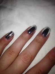 mirror nail polish on the hunt