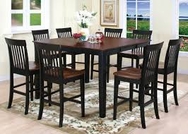 counter height table sets with 8 chairs bar tables and chairs new kitchen breakfast table set wood naindien