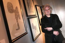 scots comedian billy connolly u0027s art is on display in glasgow